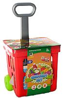 Тележка игрушечная Haiyuanquan Для покупок с продуктами / 661-92 -