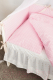 Комплект постельный в кроватку Martoo Basik Comfy 7 / CM-BS-7OR-PN (розовый/бежевый) -