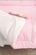 Комплект постельный в кроватку Martoo Comfy 3 / CM-3-PN (розовый/бежевый) -