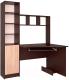 Компьютерный стол Интерлиния СК-005 (дуб венге/дуб серый) -