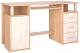 Компьютерный стол Интерлиния СК-008 (дуб сонома/дуб белый) -