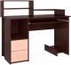 Компьютерный стол Интерлиния СК-009 (дуб венге/дуб молочный) -