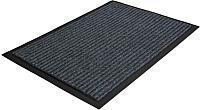 Коврик грязезащитный Kovroff Стандарт ребристый 40x60 / 20102 (серый) -