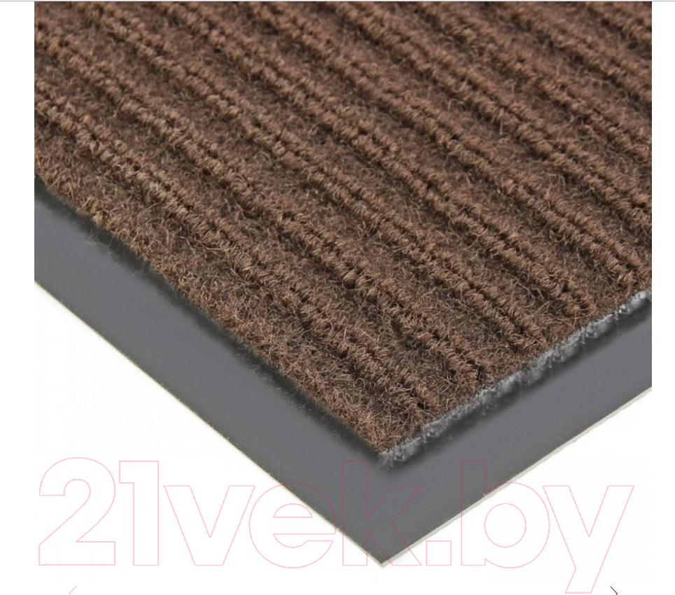 Купить Грязезащитный коврик Kovroff, Стандарт ребристый 50x80 / 20203 (коричневый), Россия