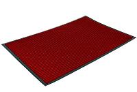 Коврик грязезащитный Kovroff Стандарт ребристый 50x80 / 20205 (красный) -