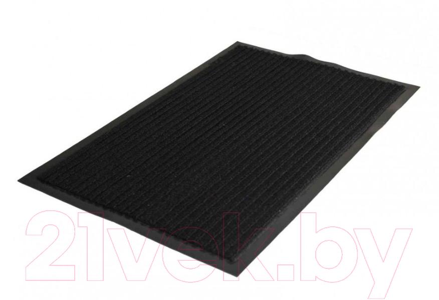 Купить Грязезащитный коврик Kovroff, Стандарт ребристый 60x90 / 20301 (черный), Россия