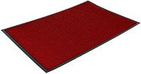 Коврик грязезащитный Kovroff Стандарт ребристый 80x120 / 20905 (красный) -