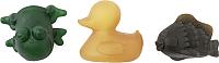 Набор игрушек для ванной Hevea Pond Animals (цветной) -