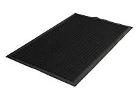 Коврик грязезащитный Kovroff Стандарт ребристый 90x120 / 20401 (черный) -