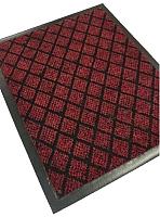 Коврик грязезащитный Kovroff Галант ребристый 40x60 / 50105 (красный) -