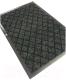 Коврик грязезащитный Kovroff Галант ребристый 40x60 / 50102 (серый) -