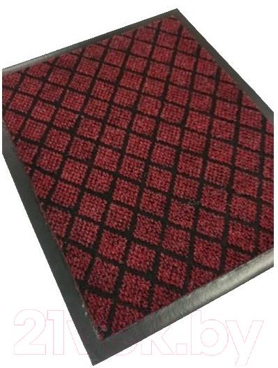 Купить Коврик грязезащитный Kovroff, Галант ребристый 50x80 / 50205 (красный), Россия