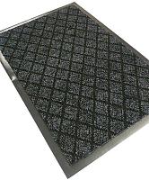 Коврик грязезащитный Kovroff Галант ребристый 50x80 / 50202 (серый) -