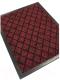 Коврик грязезащитный Kovroff Галант ребристый 60x90 / 50305 (красный) -