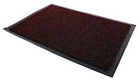 Коврик грязезащитный Kovroff Лофт ребристый 50x80 / 80207 (бордо) -