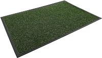 Коврик грязезащитный Kovroff Лофт ребристый 60x90 / 80306 (зеленый) -
