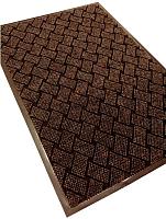 Коврик грязезащитный Kovroff Крафт ребристый 40x60 / 70103 (коричневый) -
