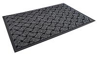 Коврик грязезащитный Kovroff Крафт ребристый 40x60 / 70102 (серый) -