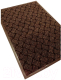 Коврик грязезащитный Kovroff Крафт ребристый 50x80 / 70203 (коричневый) -