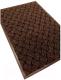 Коврик грязезащитный Kovroff Крафт ребристый 60x90 / 70303 (коричневый) -