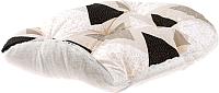 Лежанка для животных Ferplast Relax F 55 / 82055098 (треугольники, бежевый/черный) -