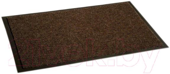 Купить Коврик грязезащитный Kovroff, Комфорт ребристый 40x60 / 40103 (коричневый), Россия