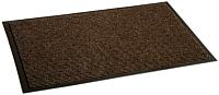 Коврик грязезащитный Kovroff Комфорт ребристый 40x60 / 40103 (коричневый) -
