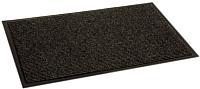 Коврик грязезащитный Kovroff Комфорт ребристый 40x60 / 40101 (черный) -