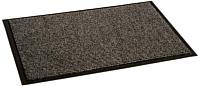 Коврик грязезащитный Kovroff Комфорт ребристый 60x90 / 40302 (серый) -