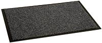 Коврик грязезащитный Kovroff Престиж ребристый 40x60 / 30102 (серый) -