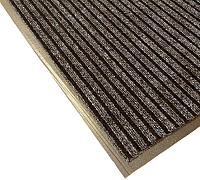 Коврик грязезащитный Kovroff Барьер ребристый 50x80 / 21403 (коричневый) -