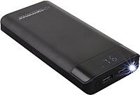 Портативное зарядное устройство Esperanza Proton 17400mAh / EMP120K (черный) -