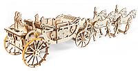 Сборная модель Ugears Королевская карета -