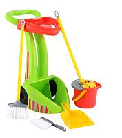 Набор хозяйственный игрушечный Полесье Чистюля-2 / 70265 (в сеточке) -