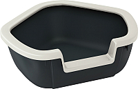 Туалет-лоток Ferplast Dama / 72039099 (черный) -