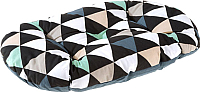 Лежанка для животных Ferplast Relax 89/10 C / 82089077 (треугольник серый) -