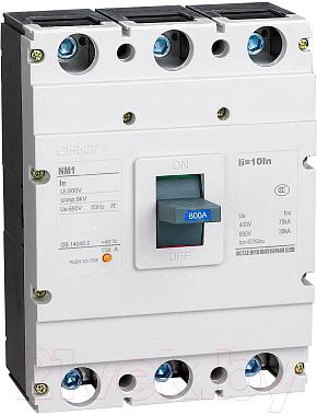 Выключатель автоматический Chint NM1-630S 3P 630A 35kА