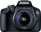 Зеркальный фотоаппарат Canon EOS 4000D EF-S Kit 18-55mm III / 3011C015AA (с сумкой и картой памяти SD 16GB) -