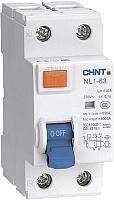 Устройство защитного отключения Chint NL1-63 6kA 2P 63A 100мА AC (DB) -
