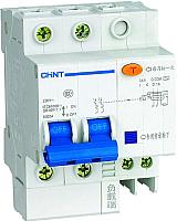 Дифференциальный автомат Chint DZ47LE-63 2P 40A 30mA AC С -