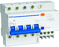 Дифференциальный автомат Chint DZ47LE-63 4P 40A 30mA AC С 6kA -