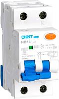 Дифференциальный автомат Chint NB1L 1P+N C25 30mA AC 10kA (36мм) (R) -