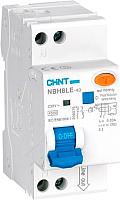 Дифференциальный автомат Chint NBH8LE-40 1P+N 6A 30mA С 4.5kA (R) -