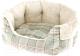Лежанка для животных Ferplast Etoile 6 / 83506023 (с мехом, зеленый) -