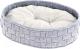 Лежанка для животных Ferplast Cocoon 45 / 83804021 (светло-серый) -