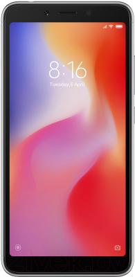 Смартфон Xiaomi Redmi 6 3Gb/64Gb (черный)