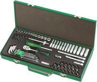 Универсальный набор инструментов Toptul GCAD7202 (72 предмета) -
