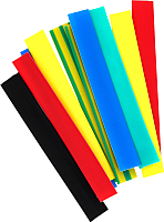 Набор трубок термоусаживаемых КС ТУТ 50/25 (21м, 7цветов) -