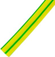 Трубка термоусаживаемая КС ТУТ 10/5 (100м, желто-зеленый) -