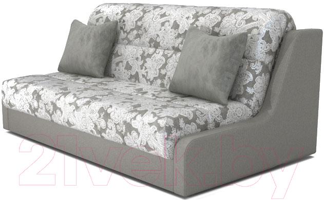 Купить Диван Askona, Персей 160 с БК без подушек (toskana flora grey), Россия